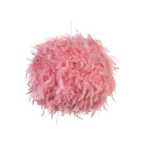 Lampa wisząca pióra różowa DRAVA (4251682220309)