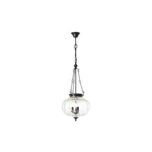 Brilliant Helyn 90918/20 lampa wisząca zwis 3x60W E14 brązowy/Transparentny