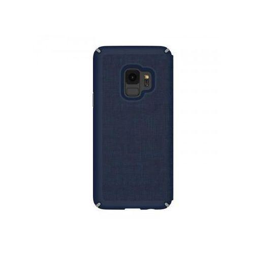 SPECK ETUI Presidio Folio do Samsung Galaxy S9 (niebiesko - szare) >> BOGATA OFERTA - SZYBKA WYSYŁKA - PROMOCJE - DARMOWY TRANSPORT OD 99 ZŁ!, kolor wielokolorowy