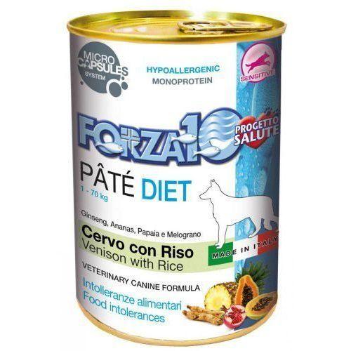 Forza10 Diet 400g dla psa: smak - jeleń i ryż DOSTAWA 24h GRATIS od 99zł (8020245011915)