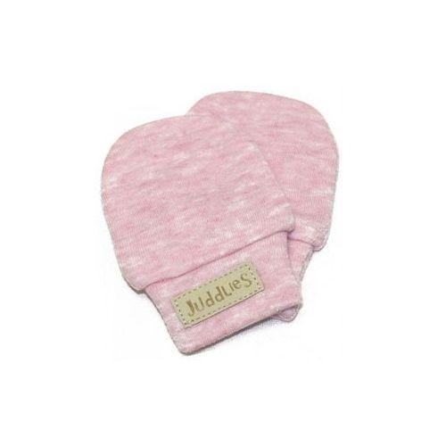 Juddlies rękawiczki niedrapki pink fleck