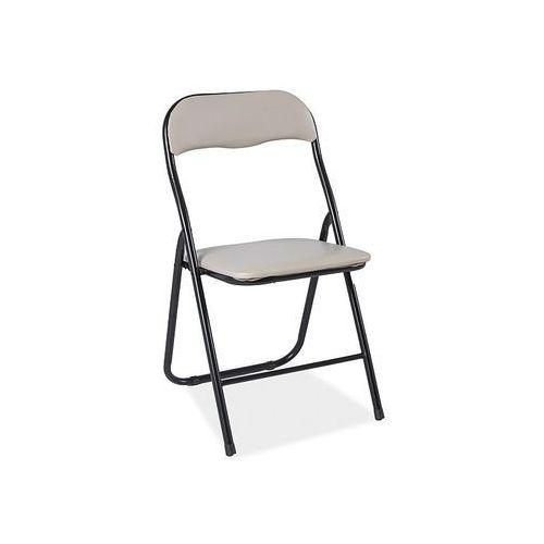 Krzesło Tipo Beżowy, kolor beżowy
