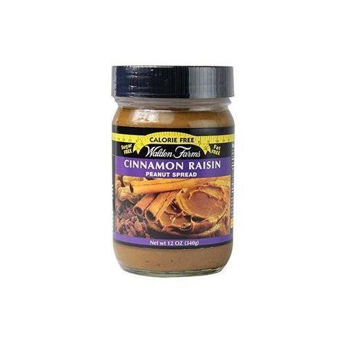 cinnamon raisin peanut spread 340g marki Walden farms