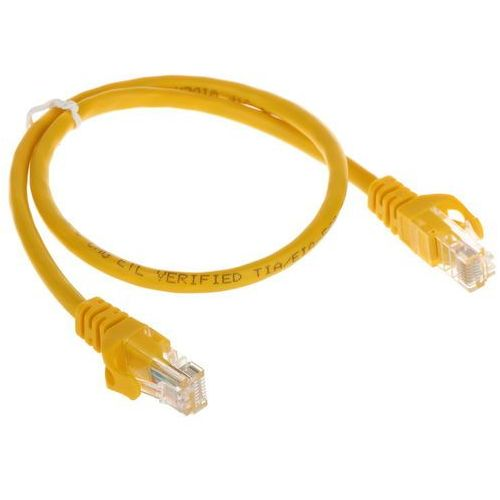 Abcvision Patchcord rj45/0.5-yellow 0.5 m
