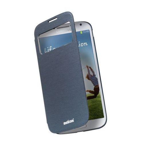 Meliconi Etui Flap View Samsung Galaxy S4 Navy (8006023207114) Darmowy odbiór w 20 miastach! - produkt z kategorii- Futerały i pokrowce do telefonów