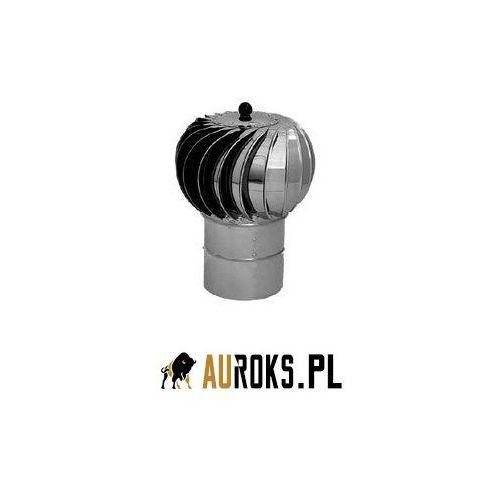 Turbowent podstawa rurowa nieotwierana turbina aluminiowa malowana dolot bl. malowana proszkowo ceglasty fi 250 marki Darco