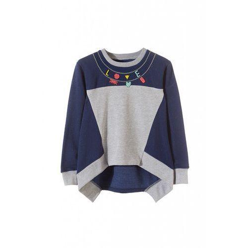 Bluza dresowa dla dziewczynki 4f3204 marki 5.10.15.