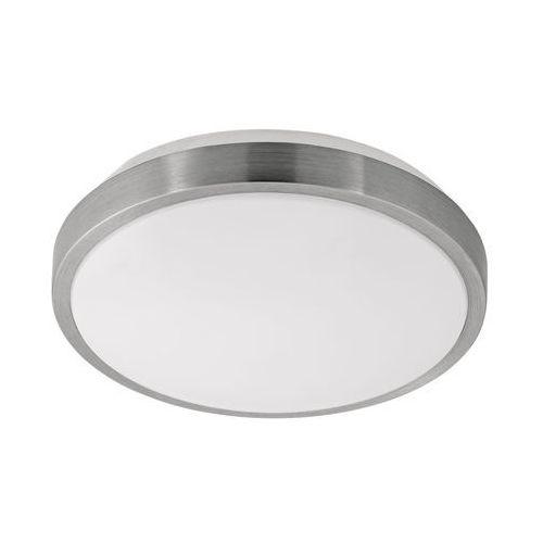 Eglo Plafon competa 1 96032 lampa oprawa sufitowa 1x22w led biały nikiel (9002759960322)
