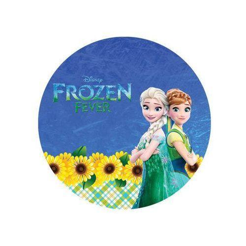 Modew Dekoracyjny opłatek tortowy frozen feever - anna i elsa - 20 cm - 11