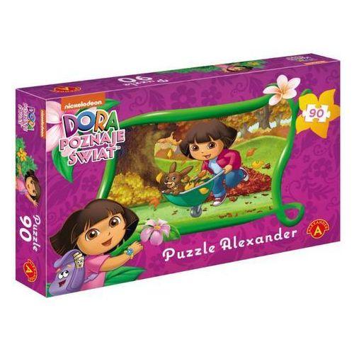 Alexander Puzzle - 90 dora poznaje świat jesień alex