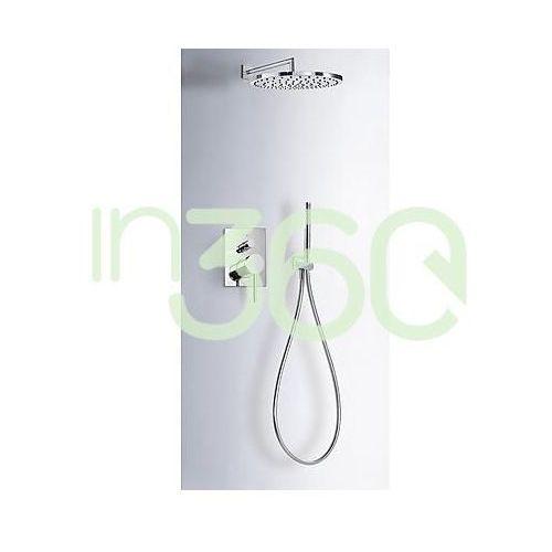 Tres Mono-Term kompletny zestaw prysznicowy podtynkowy deszczownica ø 300 mm chrom 06218003