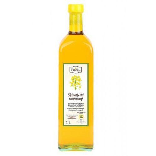 Olvita Olej rzepakowy extra zimnotłoczony 1000ml (5907591923877). Najniższe ceny, najlepsze promocje w sklepach, opinie.