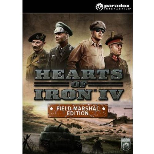 Hearts of Iron 4 Field Marshal Edition (PC)