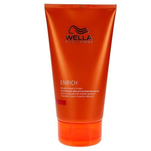 Wella Enrich Straight Leave-In - krem prostujący włosy grube 150ml