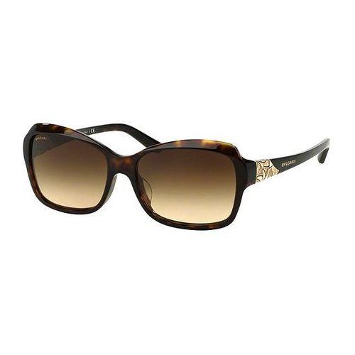 Okulary Słoneczne Bvlgari BV8153BF Asian Fit 504/13