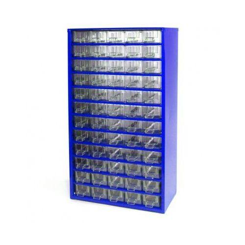 Metalowe szafki z szufladami, 60 szfulad