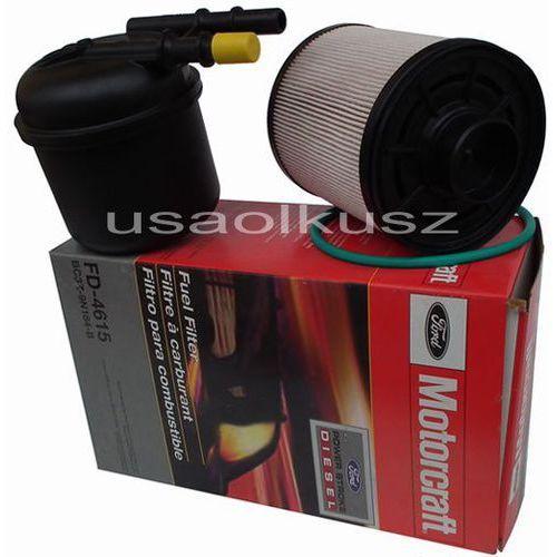 Oryginalne MOTORCRAFT filtry paliwa silnika Ford F150 - 550 6,7 TD