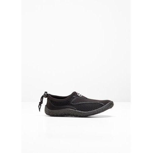 Buty do wody bonprix czarny, w 4 rozmiarach