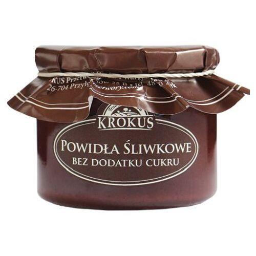 KROKUS 310g Powidła śliwkowe bez dodatku cukru tradycyjna receptura