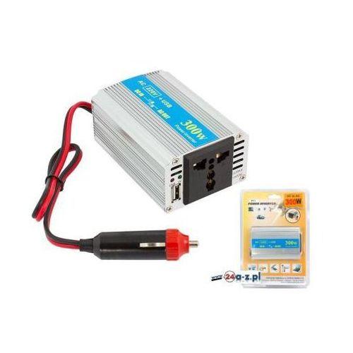 Samochodowa Przetwornica Napięcia z 12V na 230V 150/300W + Port USB...