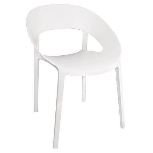 Krzesło białe | 4 szt. | (h)44cm marki Bolero