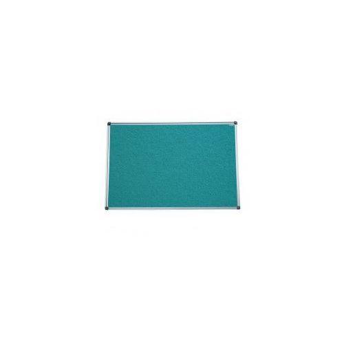 Allboards Kolorowa tablica tekstylna jak korkowa 150x100 - zielona