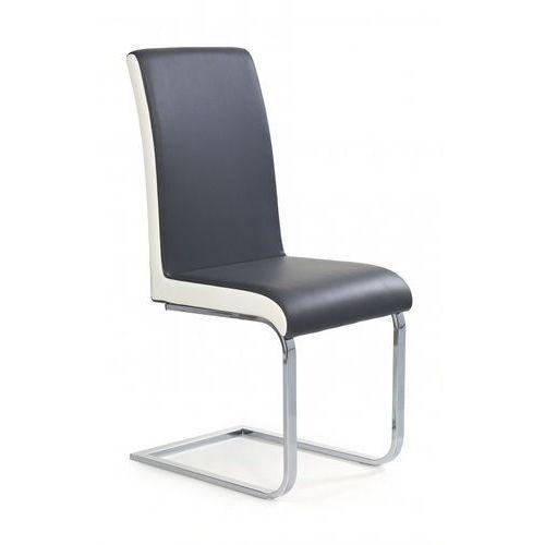K103 nowoczesne krzesło szaro-białe / gwarancja 24m / najtańsza wysyłka! marki Halmar