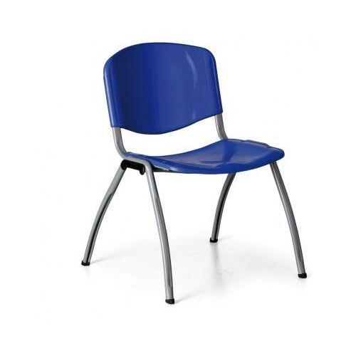 Krzesło kuchenne Livorno Plastic, niebieskie