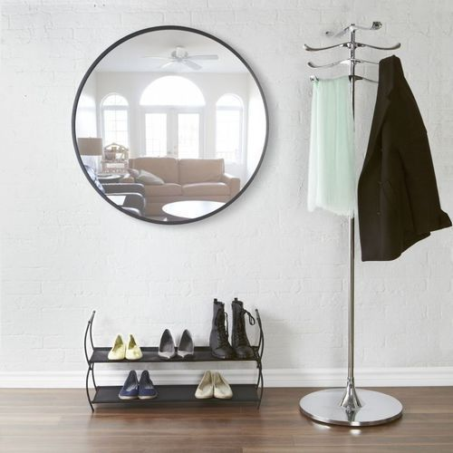 - lustro okrągłe 36'' - czarne - darmowa dostawa!!! marki Umbra