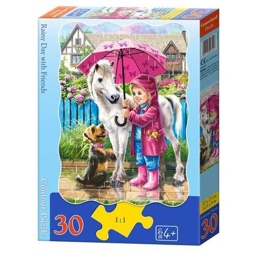 Castor Puzzle 30 rainy day with friends- bpz