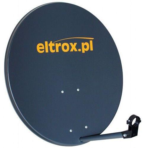 Czasza antena satelitarna 80 cm grafitowa z logiem eltrox.pl marki Corab