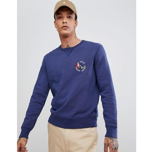 cp-93 capsule sailboat logo sweatshirt in navy - navy marki Polo ralph lauren