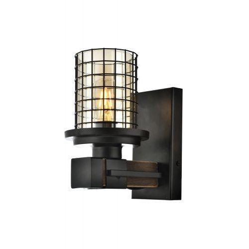 Kinkiet Avonni AP-4216-1E 15cm przezroczysty brązowy