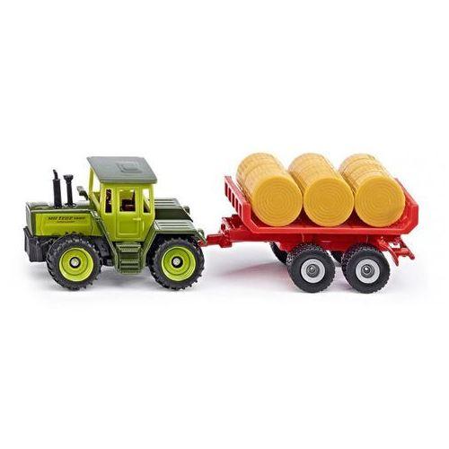 Zabawka  traktor mb z przyczepą marki Siku