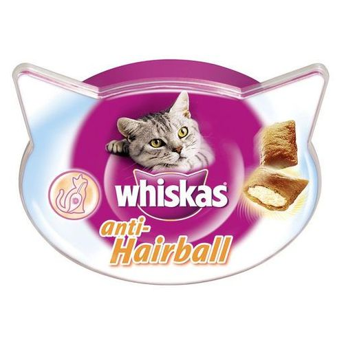 Whiskas  przysmak anti-hairball 50g