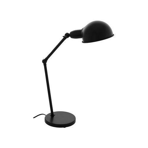 Eglo Lampa stołowa exmoor 49041 lampka 1x60w e27 czarna (9002759490416)