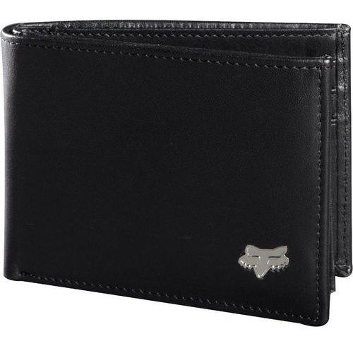 portfel męski czarny bifold leather marki Fox