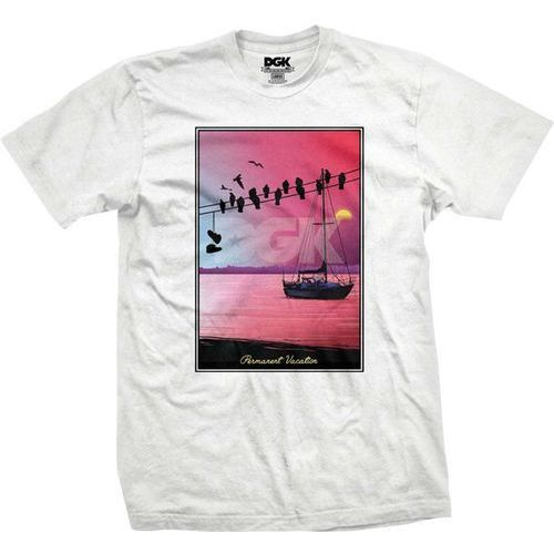 koszulka DGK - Vaca White (WHITE) rozmiar: L
