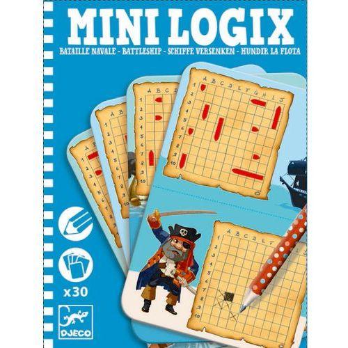 Mini Logix gra podróżna Djeco - Gra w statki DJ05355 (3070900053557)