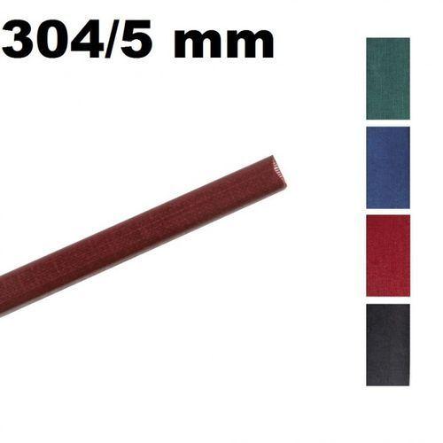 Opus Kanały o.channel classic 304 mm x 5 mm (do 35 kartek), bordowe, 10 sztuk - autoryzowana dystrybucja - szybka dostawa