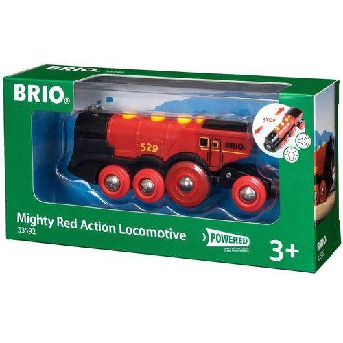 BRIO Czerwona lokomotywa na baterie Lola - sprawdź w wybranym sklepie
