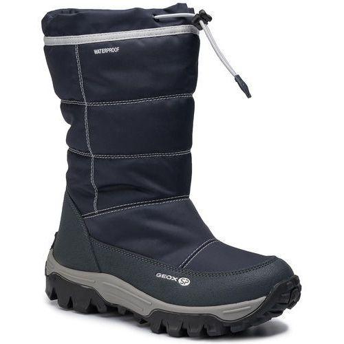 Śniegowce GEOX - J Himalaya B.B Wpf A J843AA 0FU54 C0832 S Navy/Lt Grey, kolor niebieski