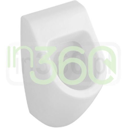 subway pisuar, 285 x 535 x 315 mm, bez pokrywy, weiss alpin ceramicplus 751300r1 marki Villeroy & boch