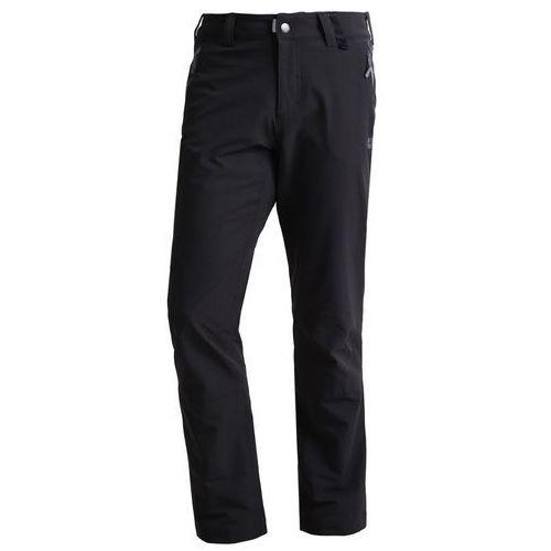 activate spodnie materiałowe black marki Jack wolfskin