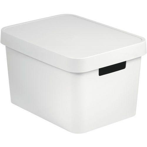 pojemnik z pokrywką infinity 17 l biały marki Curver