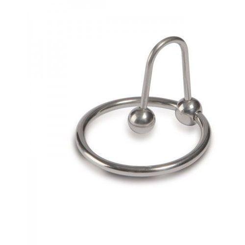 Pierścień na Penisa z Kulką Sperm Stopper 25mm