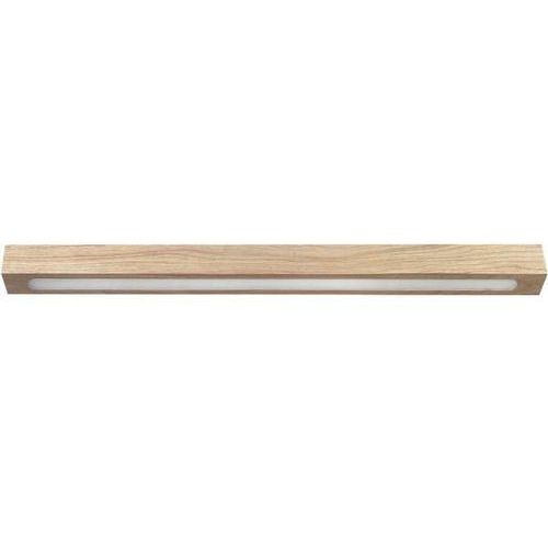 Plafon LAMPA sufitowa FUTURA WOOD LOW 32707 Sigma drewniana OPRAWA LED 8W listwa belka dąb (5902335268603)