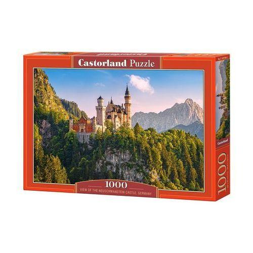 Puzzle 1000 viev of the neuschwanstein castle, germany - castor od 24,99zł darmowa dostawa kiosk ruchu marki Castorland