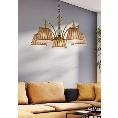 Lampa wisząca Candellux Austin 5x40W E14 patyna 35-13859 (5906714813859)