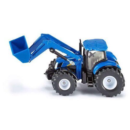 Siku , traktor new holland z przednią ładowarką - trefl